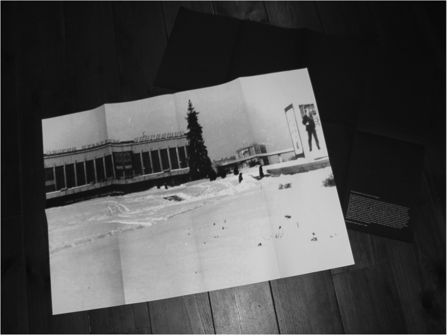 Claire Fontaine, The House of Energetic Culture (Pripyat, December 1985), 2013.