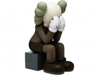 KAWS Companion: Passing Through (Brown Version), 2013.