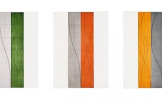 Robert Mangold, Double Column A-C, 2006.