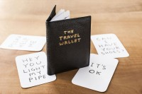 David Shrigley, The Travel Wallet, 2013. (1)