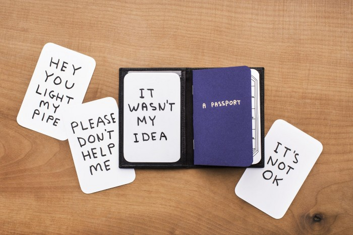 David Shrigley, The Travel Wallet, 2013. (2)
