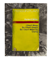Harland Miller, I Don't Sleep So I Don't Dream So I Don't Wake Up Crying , 2013.