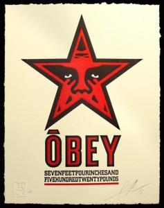 Shepard Fairey, Star, 2013.