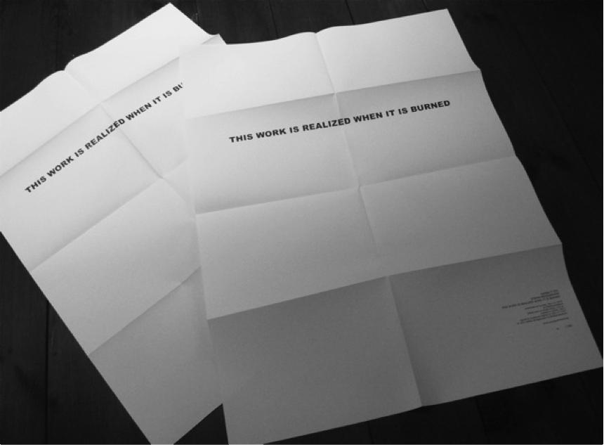 Stefan Bruggemann, This work is realized, 2013.