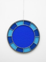 Ugo Rondinone, Blue blue blue clock, 2012.