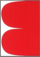 Ellsworth Kelly, Red Curves, 2013.