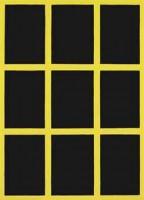 Gary Hume, Yellow Window, 2002.