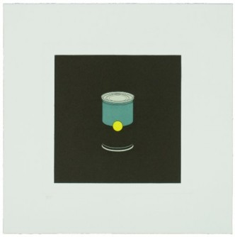 Michael Craig-Martin, Soup Can, 2013