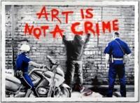 Mr Brainwash, Art is Not a Crime, 2013.