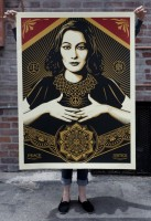 Shepard Fairey, Peace and Justice, 2013.
