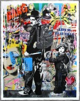 Mr Brainwash, Just Kidding, 2013.