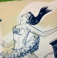 Faile, Ballet Girl, 2013.