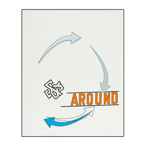 Lawrence Weiner, edition for LACMA, 2013.