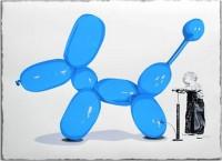 Mr Brainwash, Poppy (blue), 2013.