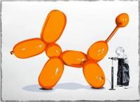 Mr Brainwash, Poppy (orange), 2013.