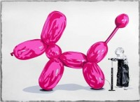 Mr Brainwash, Poppy (pink), 2013.