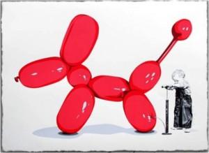 Mr Brainwash, Poppy (red), 2013.