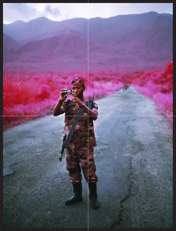 Richard Mosse, The Enclave (Poster), 2013.