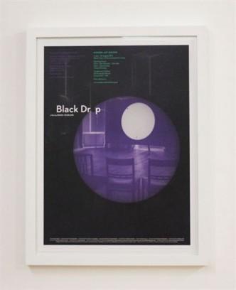 Simon Starling, Black Drop/Oxford (Poster), 2013.