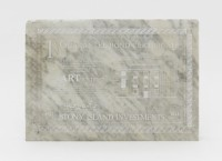Theaster Gates, Bank Bond, 2013.