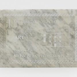 Theaster Gates edition 'Bank Bond'. In Art we Trust.