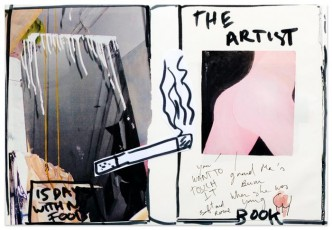 Laure Prouvost, The artist book (special edition 8/12), 2013.