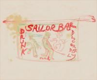 Peter Doig, Sailor Bar, 2013.