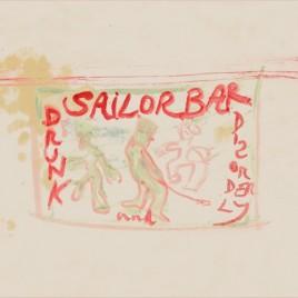 New Peter Doig screenprint 'Sailor Bar'.