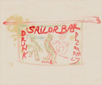 Peter Doig, Sailor Bar, 2013.