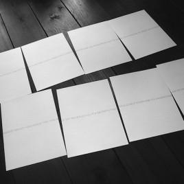 New suite of Robert Barry prints