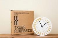 Tauba Auerbach, 24 hour Clock, 2013.