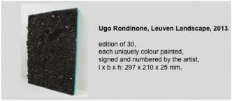 Ugo Rondinone, Leuven Landscape, 2013.