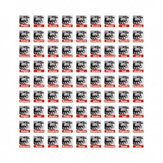 Barbara Kruger, Untitled (Stamps), 1990/2013