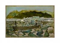 Billy Childish, Glacier bay (1907), 2013.
