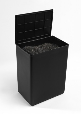 Lutz Bacher, Black Box, 2013.
