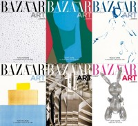 Bazaar Art, November Issue, limited edition covers.