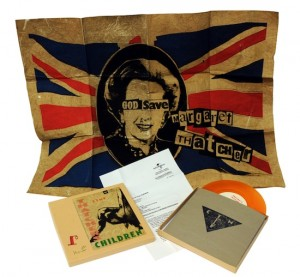 Billy Childish, CTMF Thatcher's Children Boxset - with Jamie Reid poster.