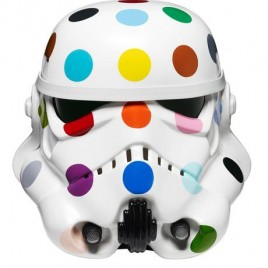 Art Wars: Damien Hirst Mr Brainwash and Yinka Shonibare Stormtrooper helmets makeover