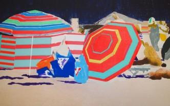 Hurvin Anderson, Sun Shade, 2013.
