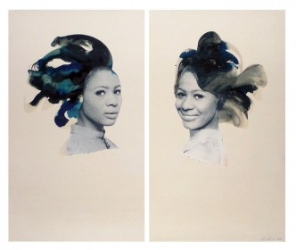 Lorna Simpson, Double Portrait, 2013