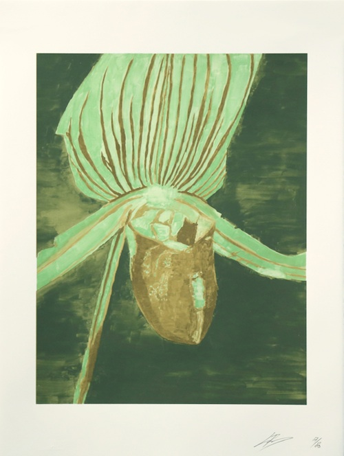 Luc Tuymans, Orchid, 2013.