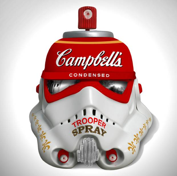 Mr Barinwash, Stormtrooper Helmet, 2013.