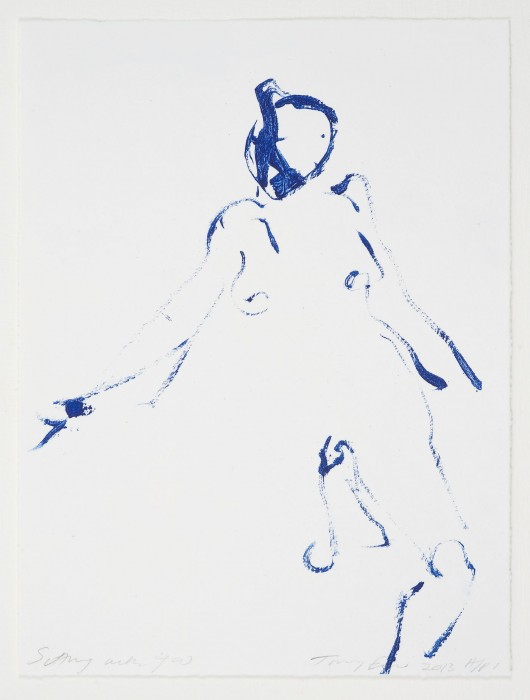 Tracey Emin, Sitting With You, 2013.