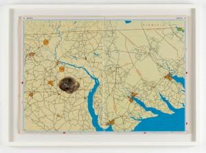 Cornelia Parker: Lands on Bethlehem N Carolina, 2001