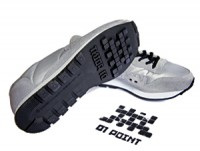 Invader, Sneakers (silver).