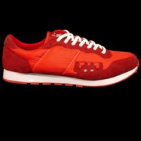 Invader, Sneakers (red).