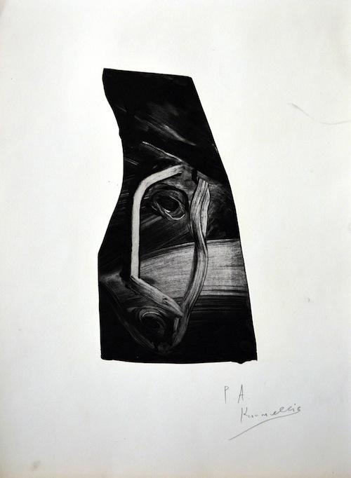 Jannis Kounellis, Portraits, 2013.