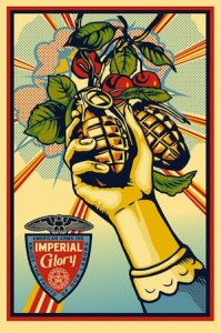 Shepard Fairey, Imperial Glory, 2013.