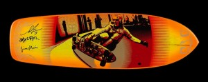 Shepard Fairey x Red Dog x Glen E Friedman x Collab Skate Deck (Airbrushed)