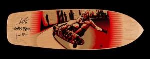 Shepard Fairey x Red Dog x Glen E Friedman x Collab Skate Deck (natural)